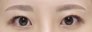 ナチュラルな眉のアートメイクはアンジュール横浜クリニック